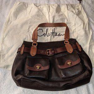 Cole Haan Large Leather Shoulder Bag